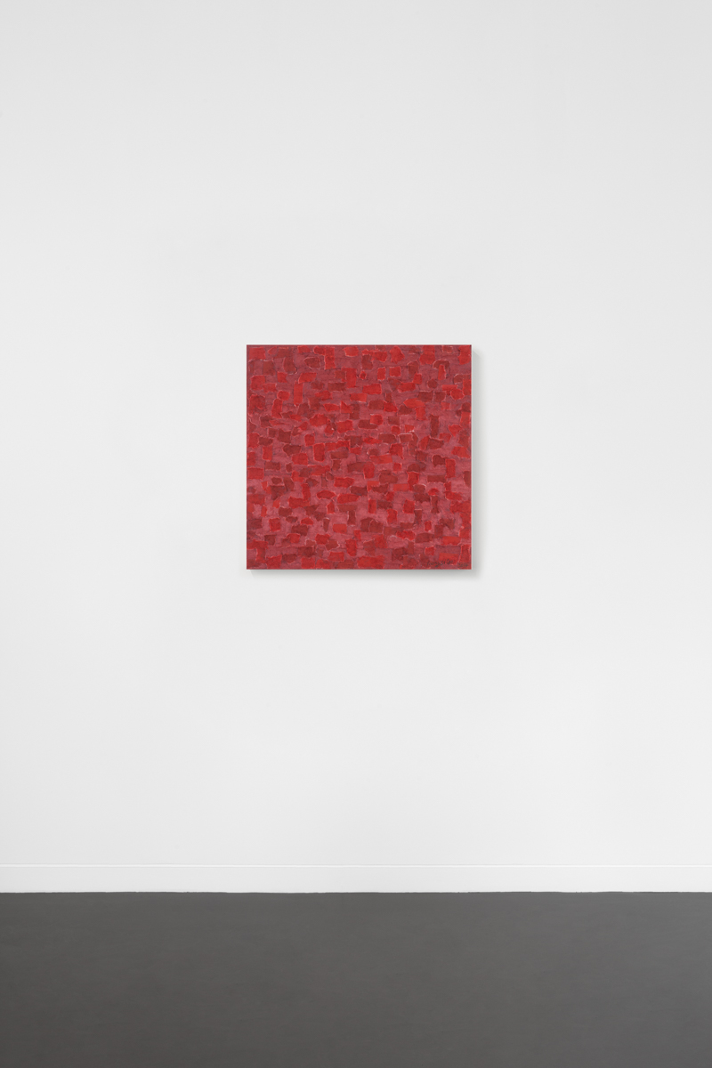 2010 – Rouge, 2017, 50 x 50 cm – young sé lee