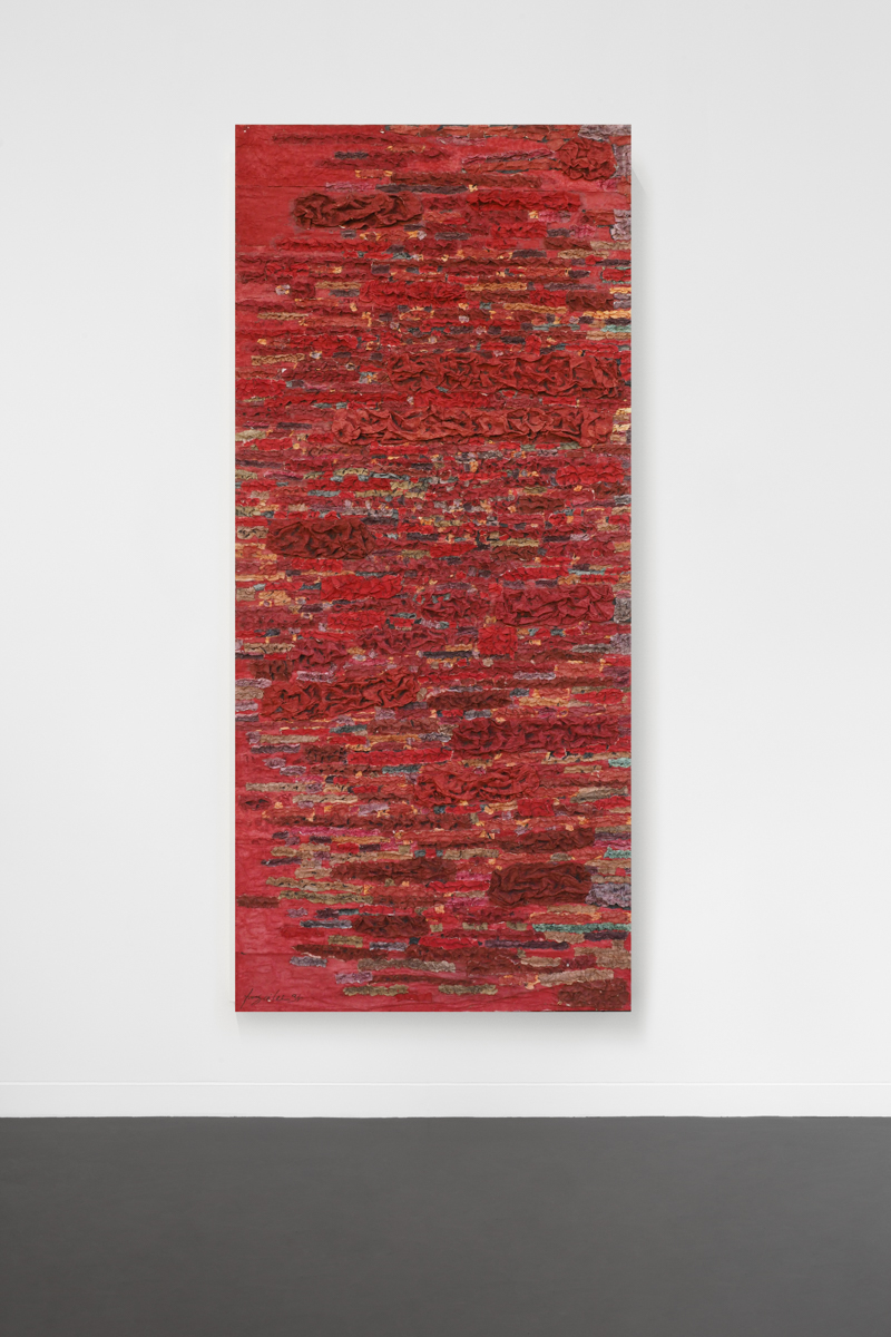 2010 – Rouge 93X206,5cm – young sé lee